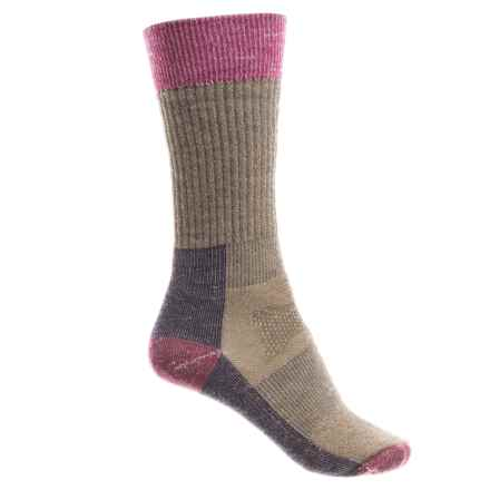 SmartWool Hunt Medium Socks - Merino Wool, Crew (For Women) in Fossil - 2nds