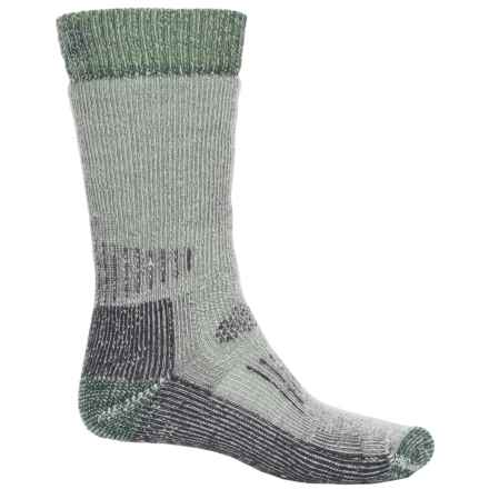 SmartWool Hunting Extra-Heavy Socks - Mid Calf (For Men and Women) in Silver Gray Heather - Closeouts