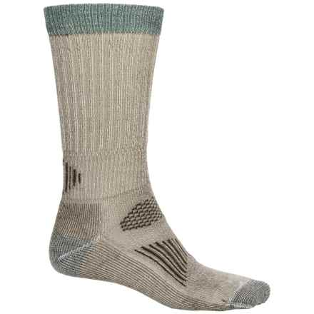 SmartWool Hunting Light Socks - Merino Wool, Mid Calf (For Men and Women) in Taupe 2 - Closeouts