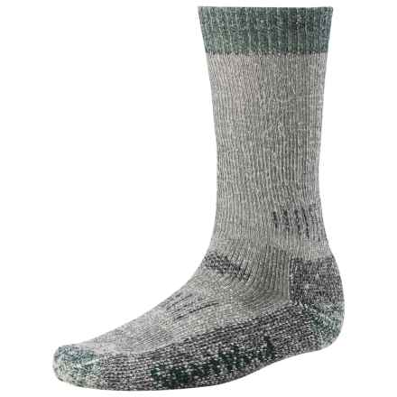 SmartWool Hunting Socks - Extra Heavy (For Men and Women) in Grey/Forest - 2nds