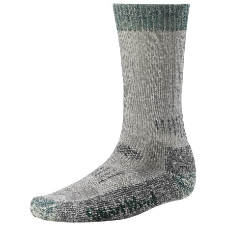 SmartWool Hunting Socks - Extra Heavy (For Men and Women) in Grey/Forest