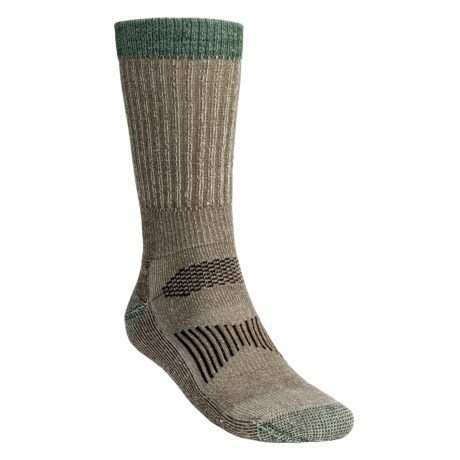 SmartWool Hunting Socks - Merino Wool, Mid-Calf (For Men and Women) in Taupe