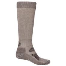 SmartWool Hunting Socks - Merino Wool, Midweight (For Men and Women) in Taupe / Brown - 2nds