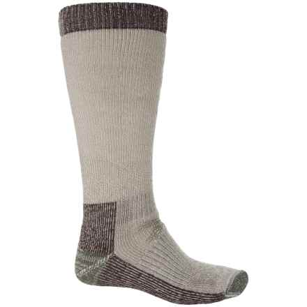 SmartWool Hunting Socks - Merino Wool, Over the Calf (For Men) in Taupe - 2nds