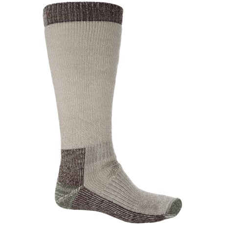 SmartWool Hunting Socks - Merino Wool, Over the Calf (For Men) in Taupe