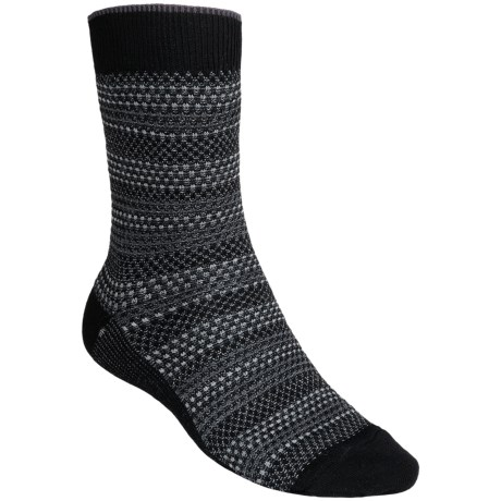 SmartWool Incline Tweed Socks - Merino Wool, Lightweight, Crew (For Men) in Black