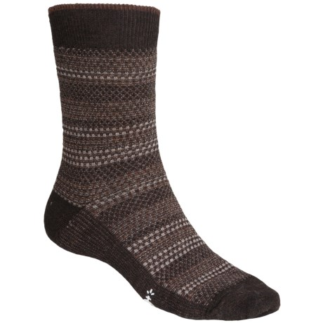 SmartWool Incline Tweed Socks - Merino Wool, Lightweight, Crew (For Men) in Chesnut Heather