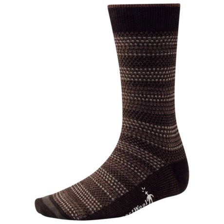 SmartWool Incline Tweed Socks - Merino Wool, Lightweight, Crew (For Men) in Chestnut
