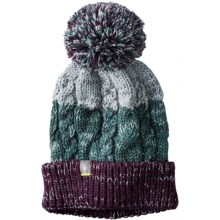 SmartWool Isto Retro Beanie - Merino Wool (For Men and Women) in Aubergine Heather - Closeouts