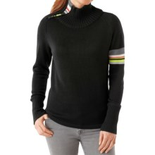 SmartWool Isto Sport Sweater - Merino Wool, Zip Neck (For Women) in Black - Closeouts
