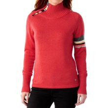 SmartWool Isto Sport Sweater - Merino Wool, Zip Neck (For Women) in Hibiscus Heather - Closeouts