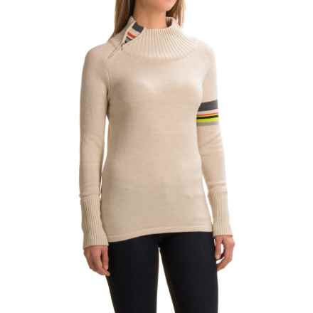 SmartWool Isto Sport Sweater - Merino Wool, Zip Neck (For Women) in Natural Heather - Closeouts
