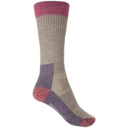 SmartWool Jitterbug Socks - Merino Wool, Crew (For Women) in Mountain Purple Heather - Closeouts