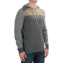 SmartWool Kiva Ridge Hoodie - Merino Wool (For Men) in Medium Gray Heather - Closeouts