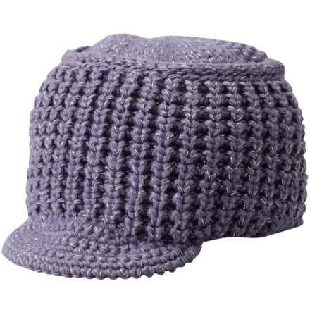 SmartWool Knit-Brim Beanie - Merino Wool (For Women) in Desert Purple - Closeouts