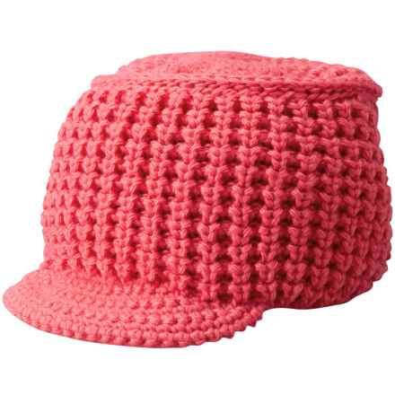 SmartWool Knit-Brim Beanie - Merino Wool (For Women) in Hibiscus - Closeouts