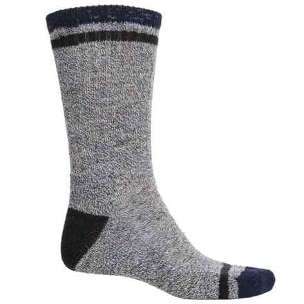 SmartWool Larimer Socks - Merino Wool, Crew (For Men) in Deep Navy Heather - 2nds