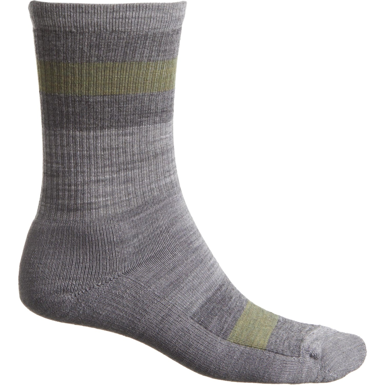 b8c0bfb6d SmartWool Light Cushion Stripe Hike Socks - Merino Wool, Crew (For Men and  Women)
