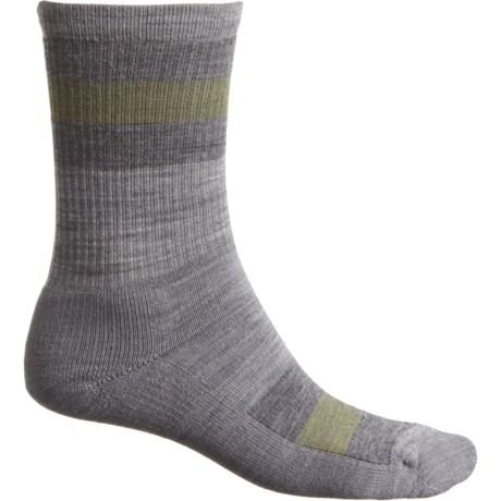 540a4930f3b62 SmartWool Light Cushion Stripe Hike Socks - Merino Wool, Crew (For Men and  Women