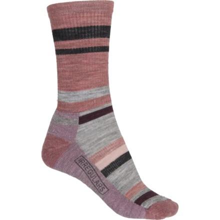 9d91ac9d0a830 SmartWool Light Cushion Striped Hiking Socks - Merino Wool, Crew (For Women)  in