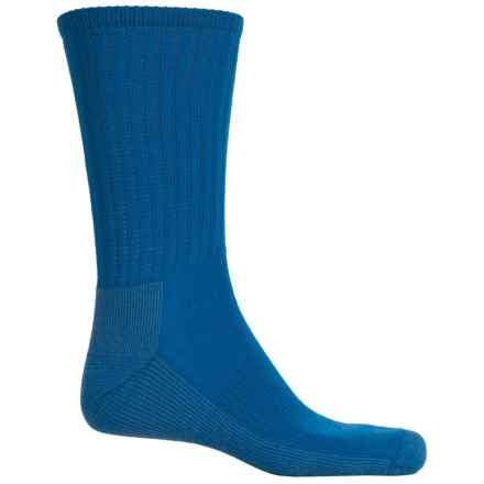 SmartWool Light Hiking Socks - Crew (For Men ad Women) in Bright Blue - Closeouts