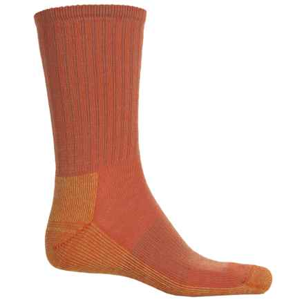 SmartWool Light Hiking Socks - Crew (For Men ad Women) in Bright Orange - Closeouts