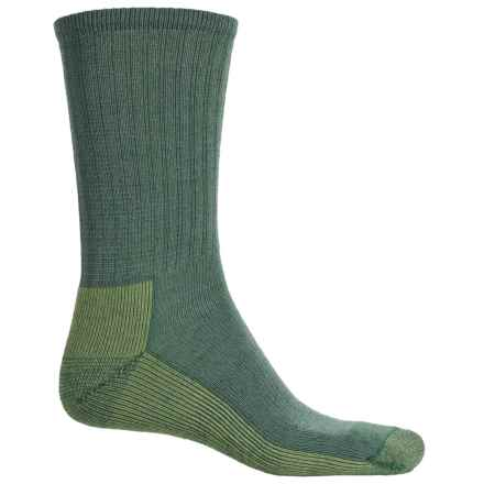 SmartWool Light Hiking Socks - Crew (For Men ad Women) in Lime - Closeouts