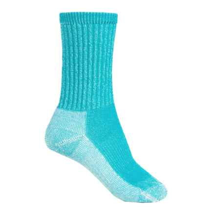 SmartWool Light Hiking Socks - Merino Wool, Crew (For Women) in Capri - 2nds