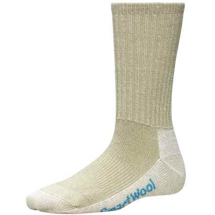 SmartWool Light Hiking Socks - Merino Wool, Crew (For Women) in Oatmeal - 2nds