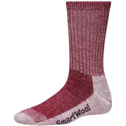 SmartWool Light Hiking Socks - Merino Wool, Crew (For Women) in Persian Red - 2nds