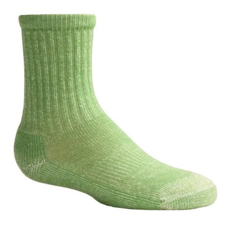 Smartwool Light Hiking Socks - Merino Wool (For Kids) in Grasshopper