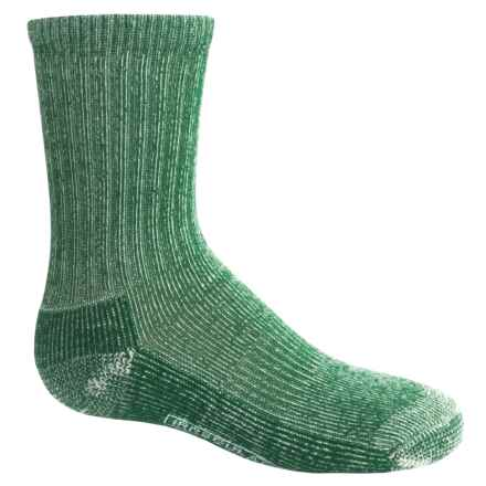 Smartwool Light Hiking Socks - Merino Wool (For Little and Big Kids) in Green - 2nds