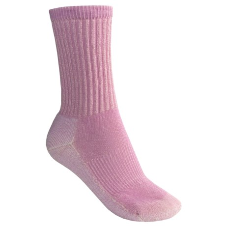 SmartWool Light Hiking Socks - Merino Wool (For Women) in Pink