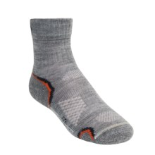 SmartWool Light Outdoor Socks - Merino Wool, Crew  (For Kids and Youth) in Grey - 2nds