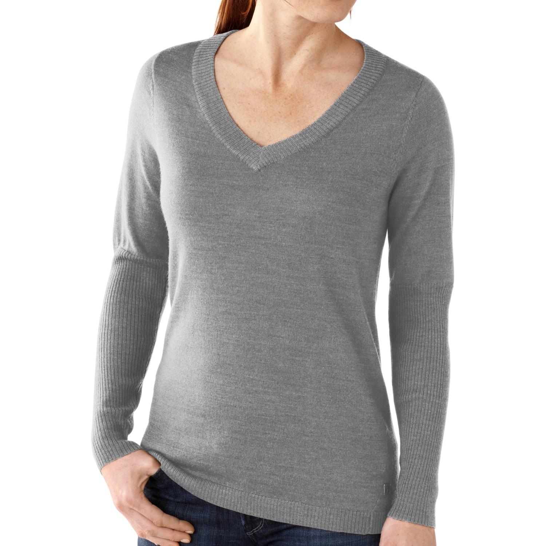 Smartwool Lightweight Front Range Shirt V Neck Long