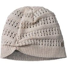 SmartWool Lightweight Pointelle Beanie Hat - Merino Wool (For Women) in Oatmeal Heather - Closeouts