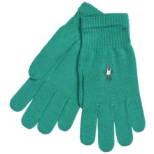SmartWool Liner Gloves - Merino Wool (For Men and Women) in Mint - Closeouts