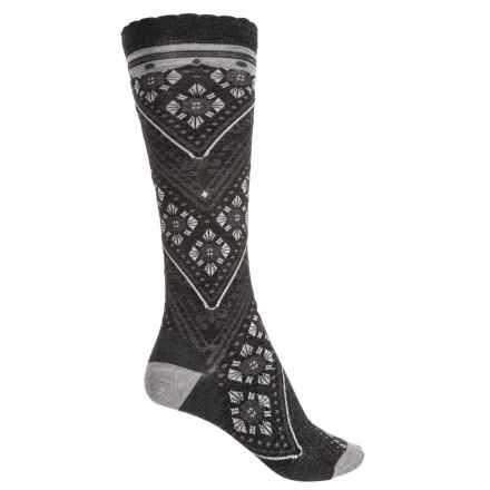 f208e96855e68 SmartWool Lingering Lace Knee High Socks - Merino Wool, Over the Calf (For  Women