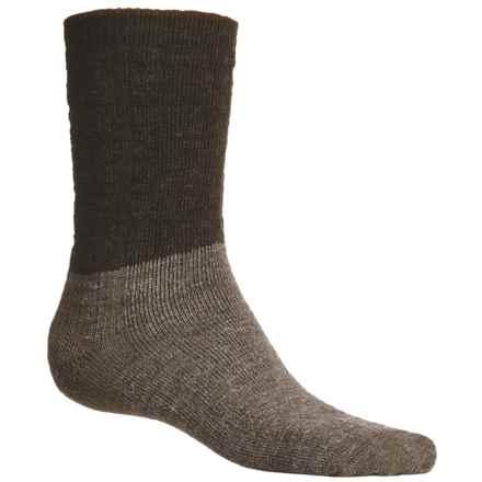 SmartWool Logger Socks - Merino Wool, Crew (For Men) in Chestnut Heather - 2nds
