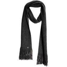 SmartWool Longview Scarf - Merino Wool (For Men and Women) in Charcoal - Closeouts