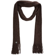 SmartWool Longview Scarf - Merino Wool (For Men and Women) in Espresso - Closeouts