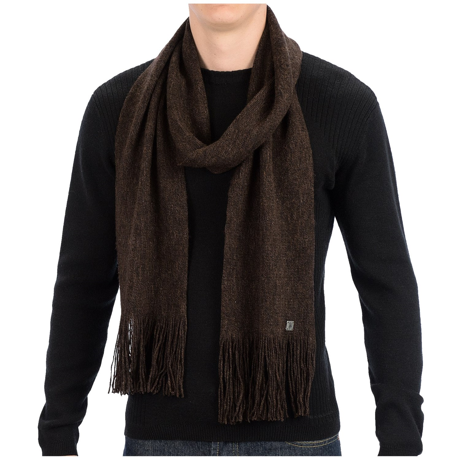 Merino wool scarves for men are perfect practical. Merino wool is a natural breathable fiber which holds heat well and natural fibers have to ability to regulate your .