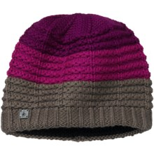 SmartWool Lost Lake Beanie Hat - Merino Wool (For Women) in Taupe - 2nds