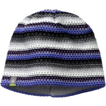 SmartWool Marble Ridge Beanie Hat- Merino Wool (For Men and Women) in Polar Purple - 2nds