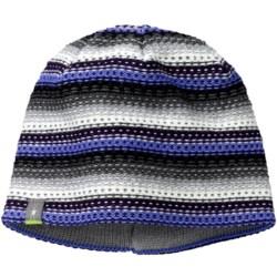 SmartWool Marble Ridge Beanie Hat- Merino Wool (For Women) in Polar Purple