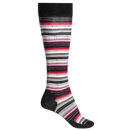 18504ec816f SmartWool Margarita Knee-High Socks - Merino Wool