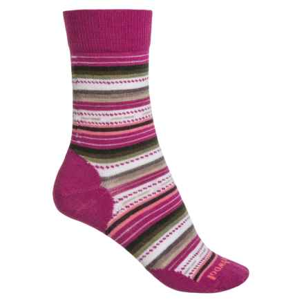 SmartWool Margarita Socks (For Women) in Berry - 2nds