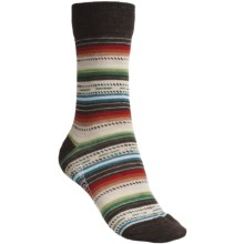 SmartWool Margarita Socks (For Women) in Chestnut Heather - 2nds