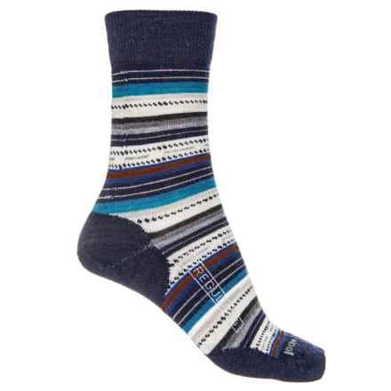 SmartWool Margarita Socks (For Women) in Deep Navy Heather - 2nds