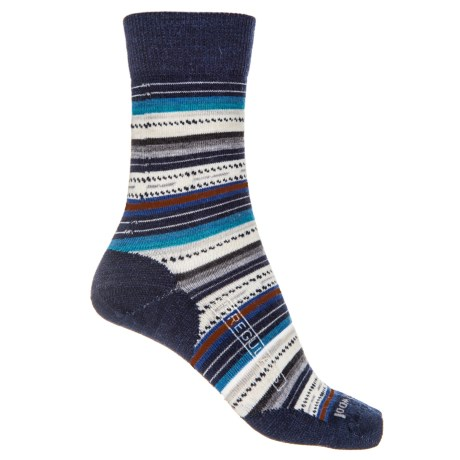 SmartWool Margarita Socks (For Women) in Deep Navy Heather